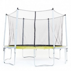 Trampoline DOMYOS Essential 365 vert + filet de protection